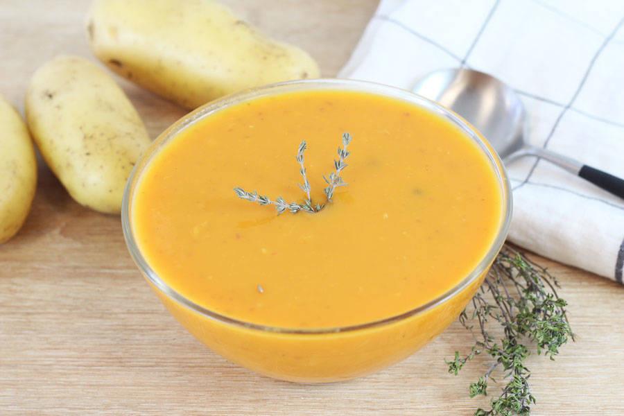Soupe potimarron au pomme - Entre Saveur et Jardin - La Ruche qui dit Oui ! à la maison