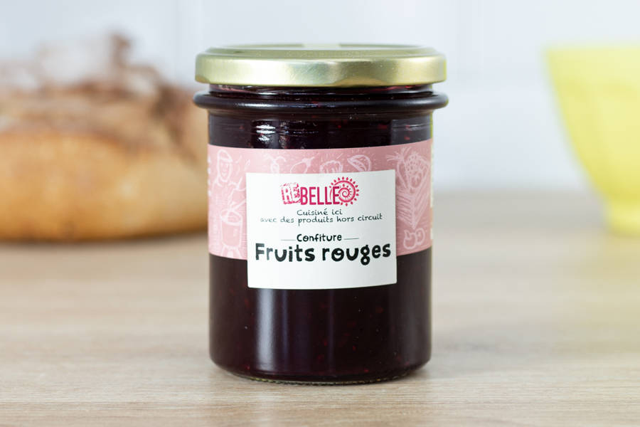 Confiture Fruits rouges - Re-Belle - La Ruche qui dit Oui ! à la maison
