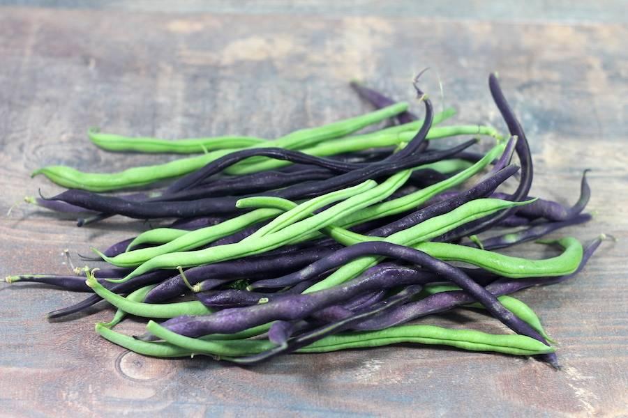 Mélange haricots verts et violets - Le Potager d'Olivier - La Ruche qui dit Oui ! à la maison