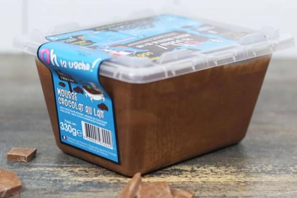 Mousse au chocolat au lait familiale - Oh la Vache
