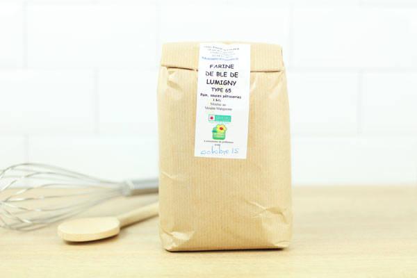 Farine de blé de Lumigny 1kg - Ferme de Grand'Maison