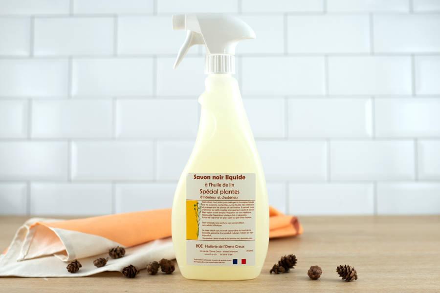 Spray savon noir plantes - Huilerie de l'Orme Creux - La Ruche qui dit Oui ! à la maison