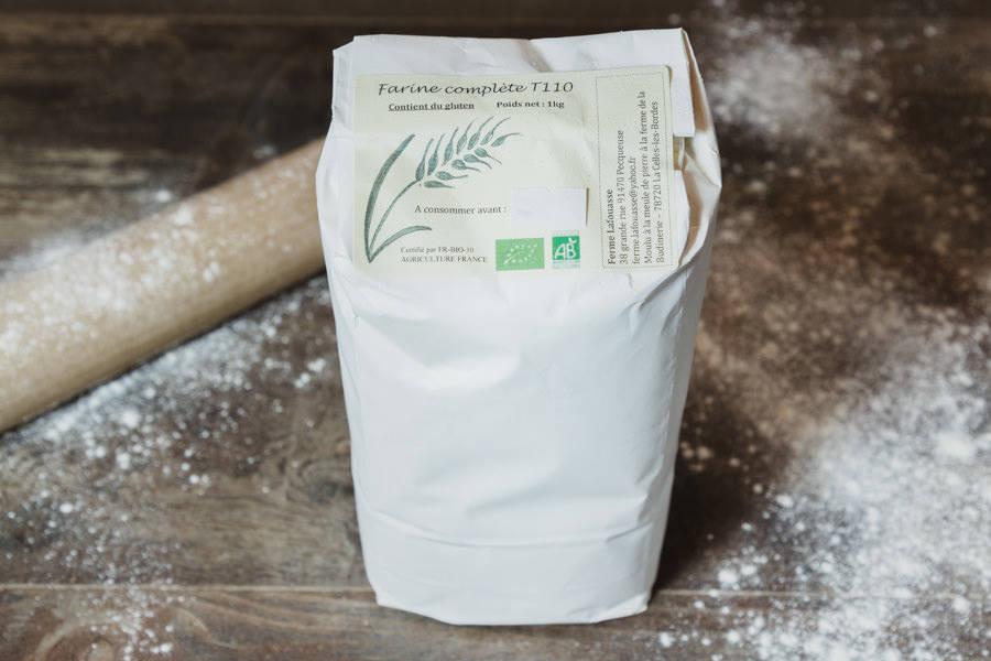 Farine blé complet T110 BIO - Ferme Lafouasse - La Ruche qui dit Oui ! à la maison