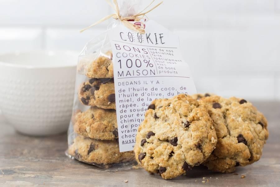 Cookies frais maison - Gros Gourmand - La Ruche qui dit Oui ! à la maison