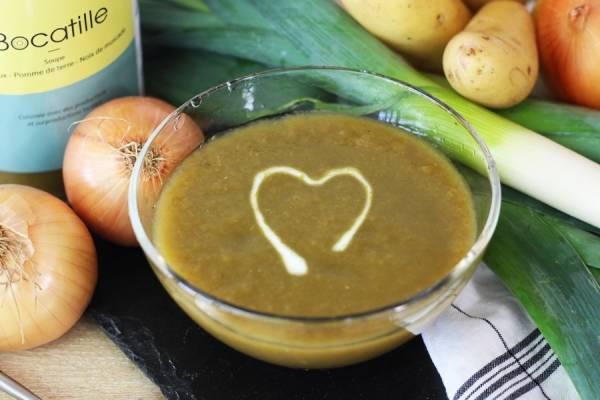 Soupe de poireaux, pomme de terre et muscade - Conserverie de Larnière - Le Comptoir Local
