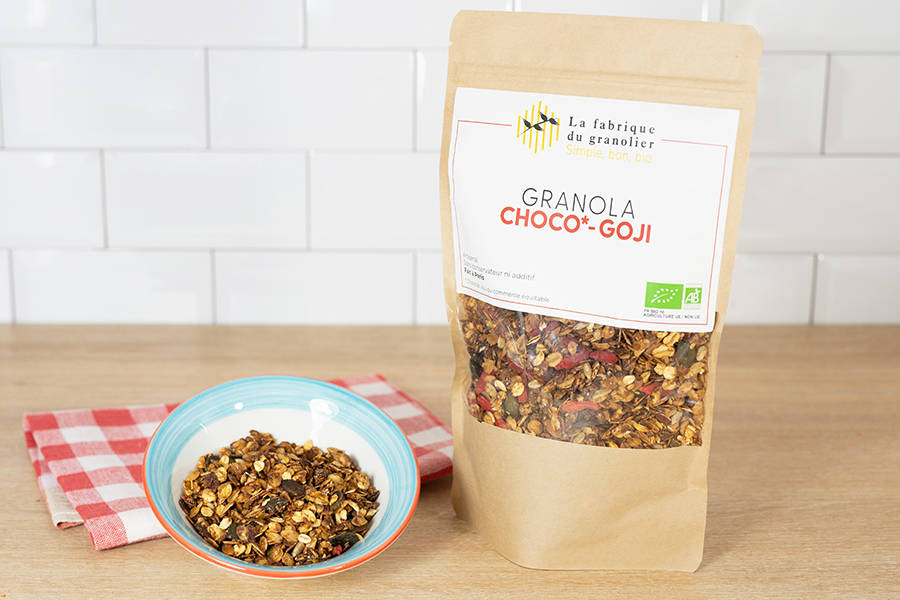 Granola Choco Goji BIO - La Fabrique du Granolier - La Ruche qui dit Oui ! à la maison