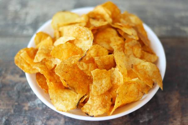 Chips barbecue - Le Jardin de Guillaume