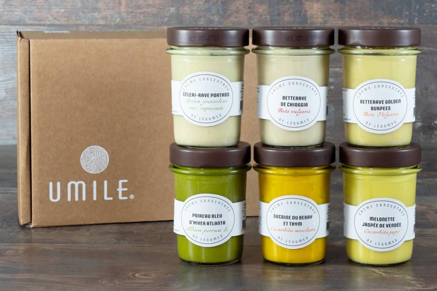 Assortiment découverte - crèmes de  légumes - Umile - La Ruche qui dit Oui ! à la maison