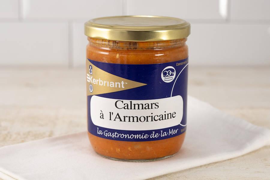 Calmars à l'Armoricaine - Conserverie artisanale Kerbriant - La Ruche qui dit Oui ! à la maison