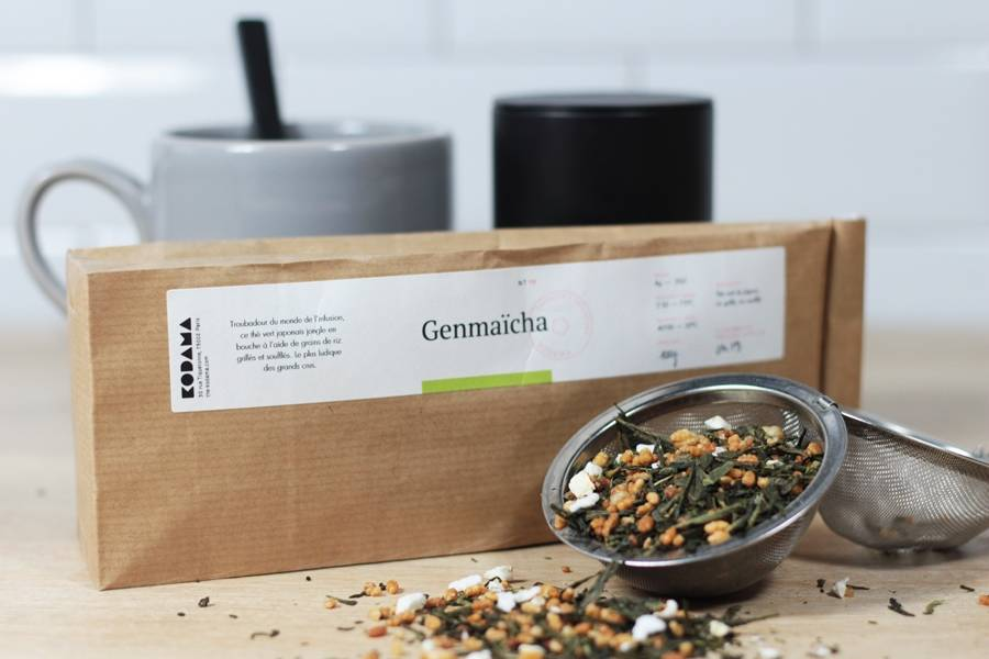 Thé vert Genmaicha recharge - Kodama - La Ruche qui dit Oui ! à la maison