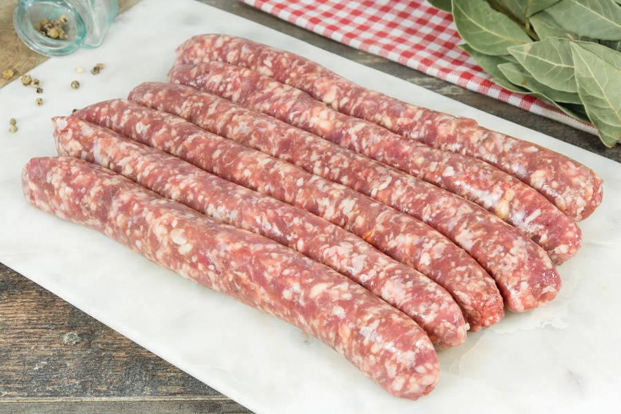 Saucisses d'Agneau - Le Goût des Prés - La Ruche qui dit Oui ! à la maison