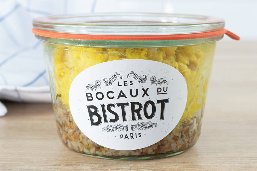 Lentille corail & sarrasin grillé - Les Bocaux du Bistrot - La Ruche qui dit Oui ! à la maison