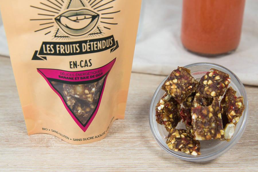 En-cas banane goji BIO - Les Fruits Détendus - La Ruche qui dit Oui ! à la maison