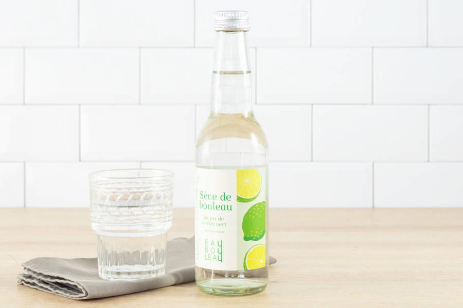 EauBouLeau au jus de citron vert BIO - 33 cL - EauBouleau - La Ruche qui dit Oui ! à la maison