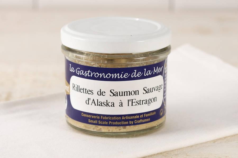 Rillettes de Saumon Sauvage d'Alaska à l'Estragon - Conserverie artisanale Kerbriant - La Ruche qui dit Oui ! à la maison