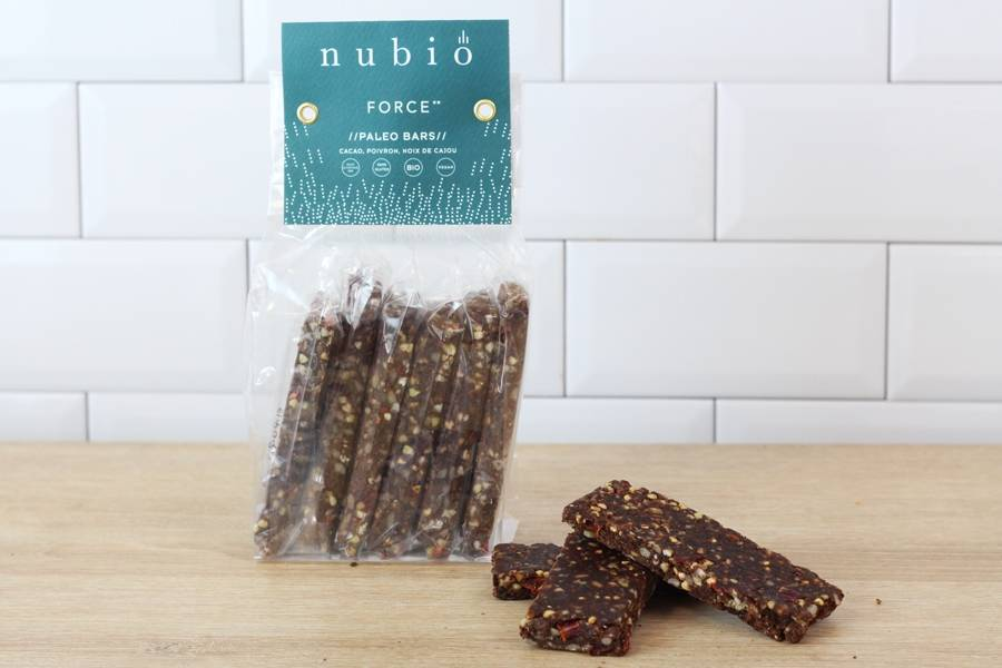 Paleo bars Force BIO - Atelier Nubio