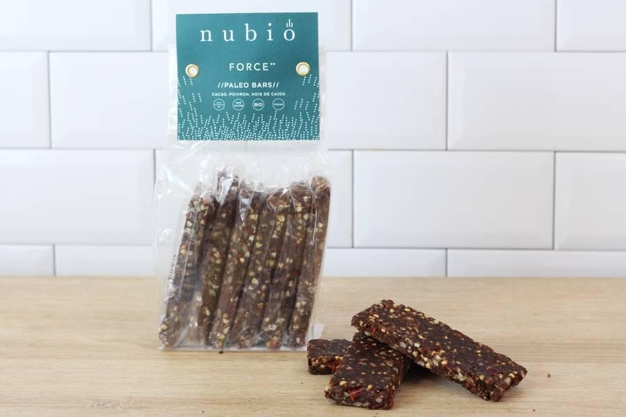 Paleo bars Force BIO - Atelier Nubio - Le Comptoir Local