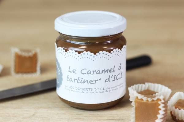Caramel à tartiner - Les Desserts d'Ici