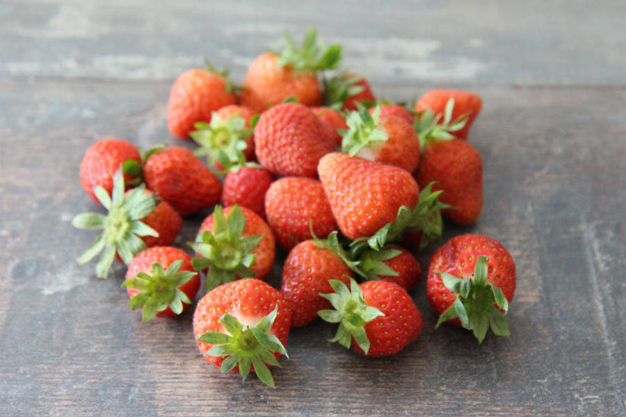 Mélange de fraises - Le Potager d'Olivier - La Ruche qui dit Oui ! à la maison