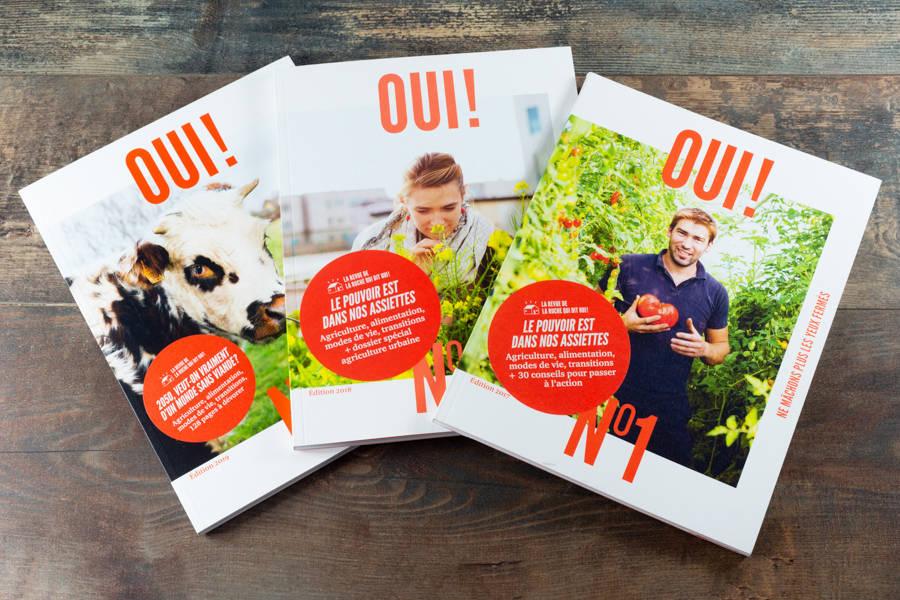 Oui ! le magazine - les 3 tomes - La Ruche Mama - La Ruche qui dit Oui ! à la maison