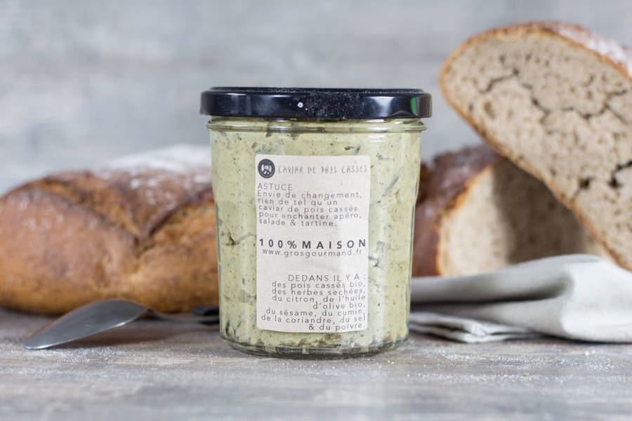 Caviar de pois cassés - Gros Gourmand - La Ruche qui dit Oui ! à la maison