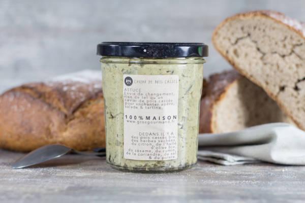 Caviar de pois cassés - Gros Gourmand - Le Comptoir Local