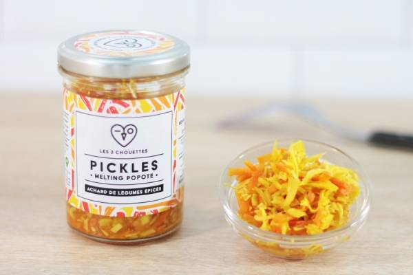 Pickles BIO Melting Popote - Les 3 Chouettes