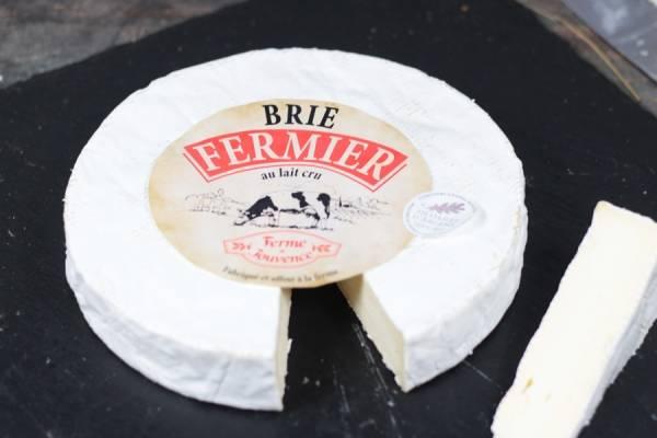 Brie Fermier au lait cru - Ferme de Jouvence