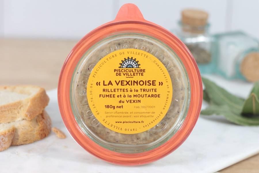 Rillettes la vexinoise - Pisciculture de Villette - La Ruche qui dit Oui ! à la maison