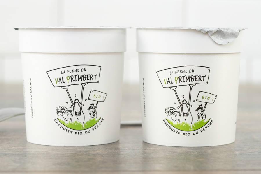 Yaourt de brebis nature BIO - Ferme du Val Primbert - La Ruche qui dit Oui ! à la maison