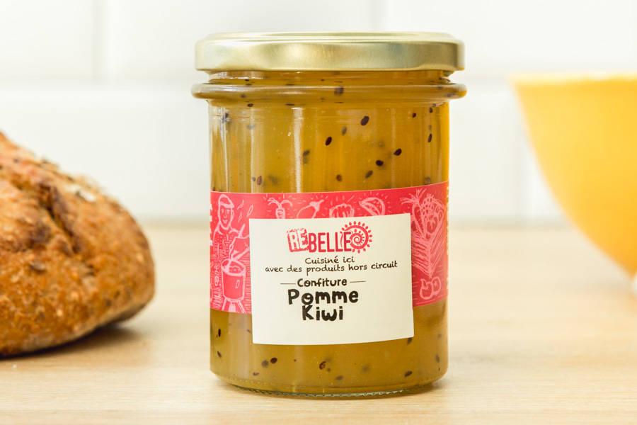 Confiture Pomme Kiwi - Re-Belle - La Ruche qui dit Oui ! à la maison