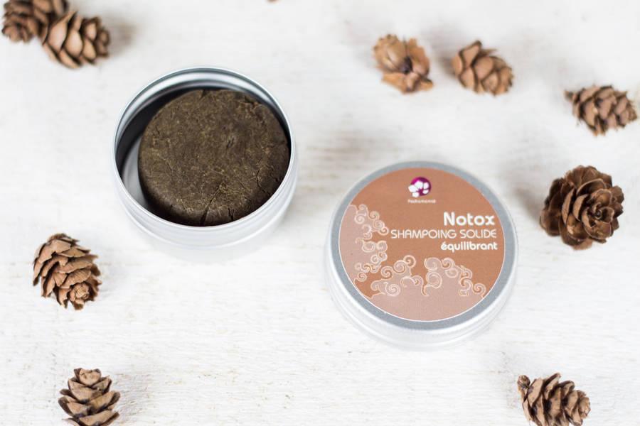 Notox - shampoing solide équilibrant format voyage - Pachamamaï - La Ruche qui dit Oui ! à la maison