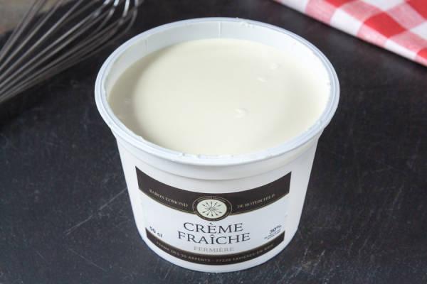 Crème fraîche - Domaine des 30 Arpents