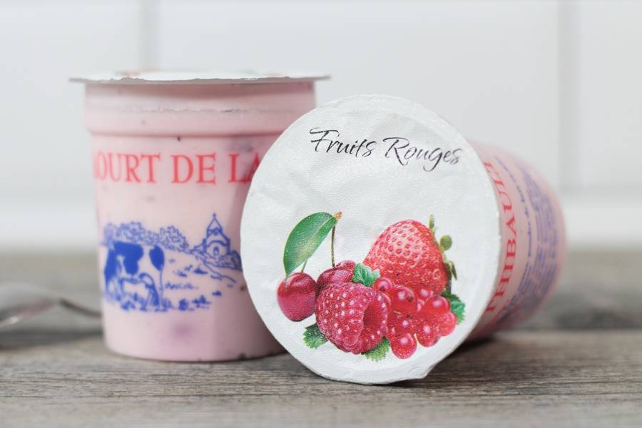 Yaourt fruits rouges - Ferme de Saint-Thibault des Vignes - La Ruche qui dit Oui ! à la maison