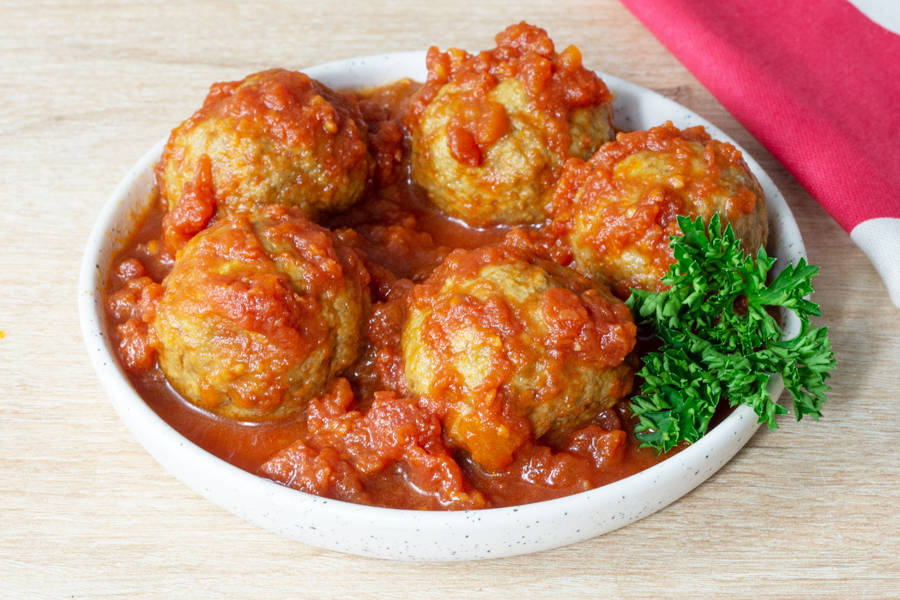 Polpette (boulettes en sauce tomate) - Tour All'Italiana - La Ruche qui dit Oui ! à la maison