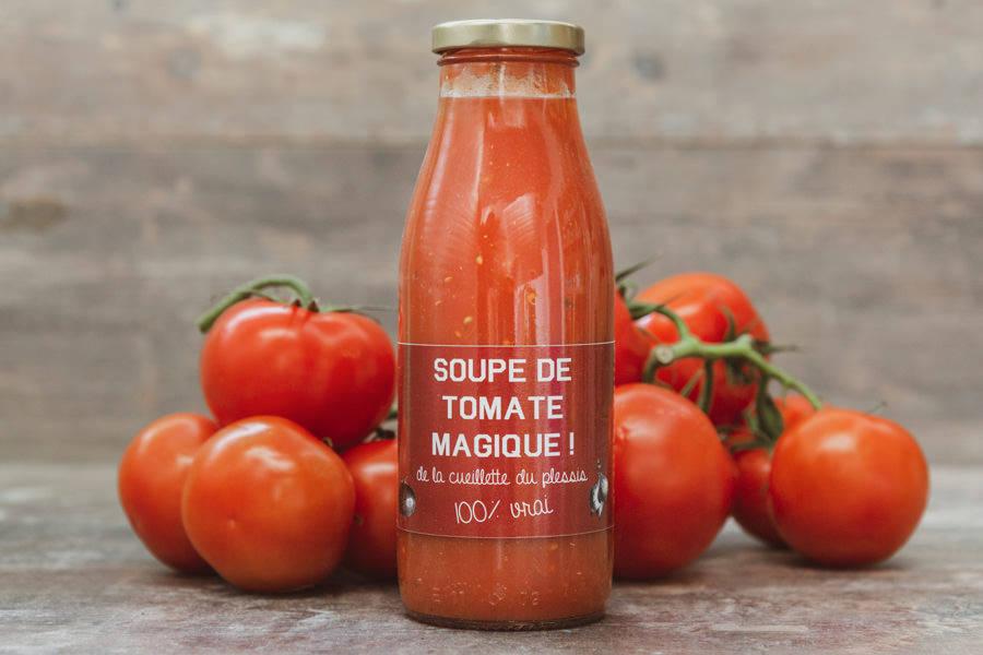 Soupe de Tomates - Cueillette du Plessis - La Ruche qui dit Oui ! à la maison