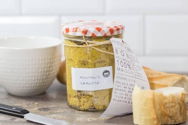 Houmous carottes - Gros Gourmand - Le Comptoir Local