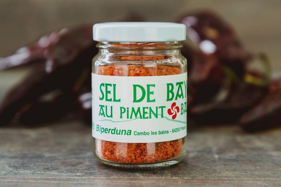 Sel de Bayonne au piment basque BIO - Biperduna - La Ruche qui dit Oui ! à la maison