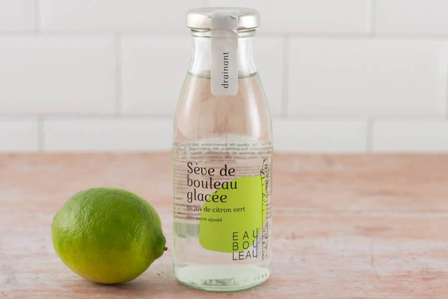 Sève de bouleau glacée au jus de citron vert BIO - EauBouleau - La Ruche qui dit Oui ! à la maison