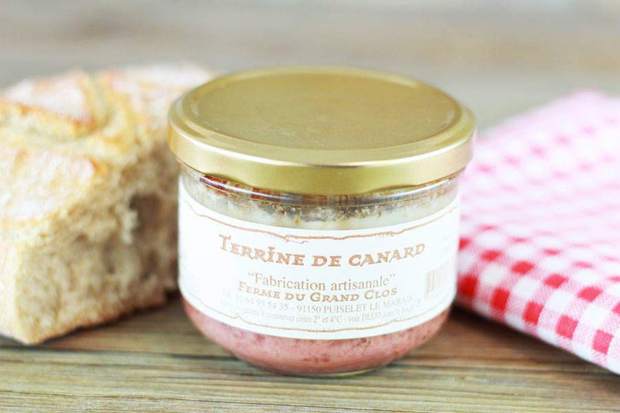 Terrine de canard - Ferme du Grand Clos - La Ruche qui dit Oui ! à la maison