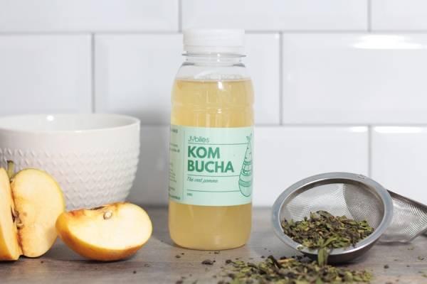 Kombucha thé vert pomme - Jubiles