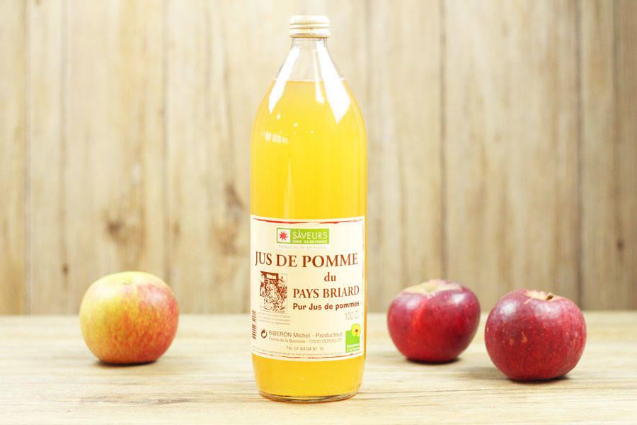 Jus de pomme 1L - Ferme de la Bonnerie - La Ruche qui dit Oui ! à la maison