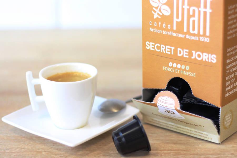 Secret de Joris - Capsules - Cafés Pfaff - La Ruche qui dit Oui ! à la maison