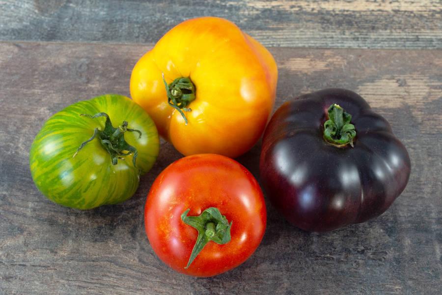 Mélange tomates anciennes BIO - Ferme Lafouasse - La Ruche qui dit Oui ! à la maison
