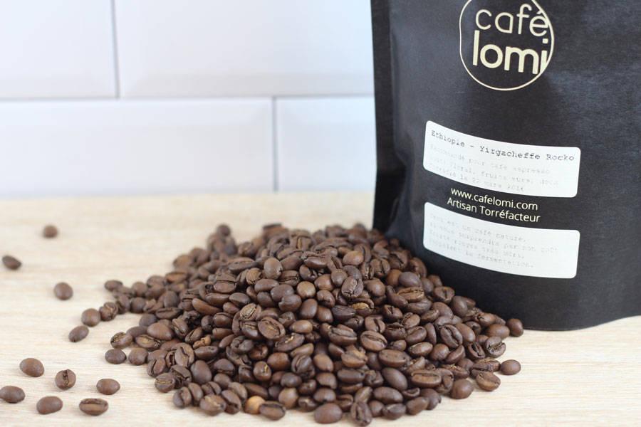 Ethiopie - Grains - Café Lomi - La Ruche qui dit Oui ! à la maison
