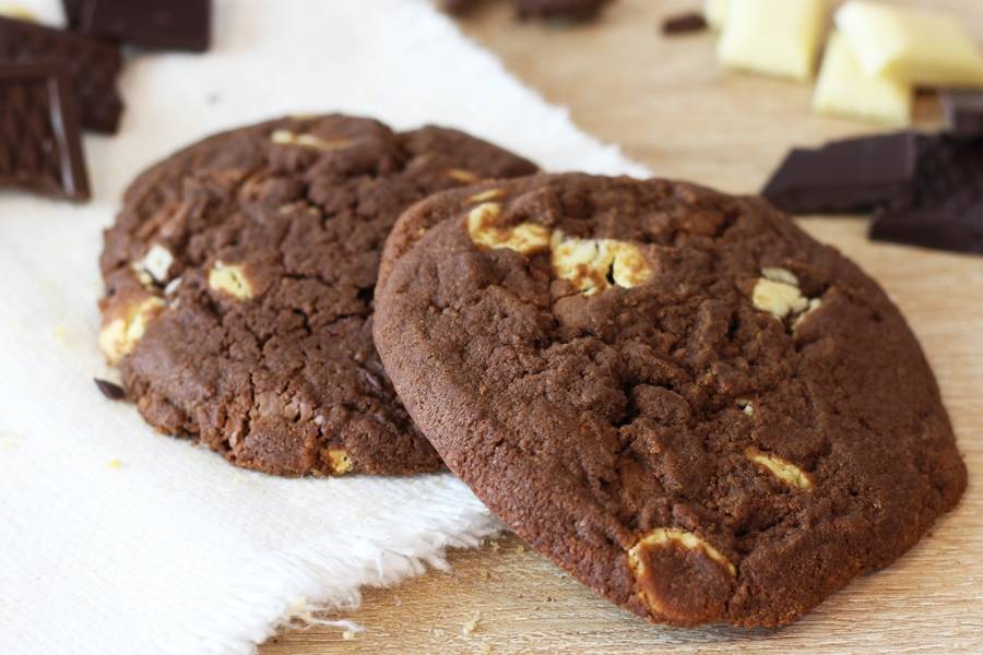 Cookie 3 Chocolats - La Fabrique Cookies - La Ruche qui dit Oui ! à la maison
