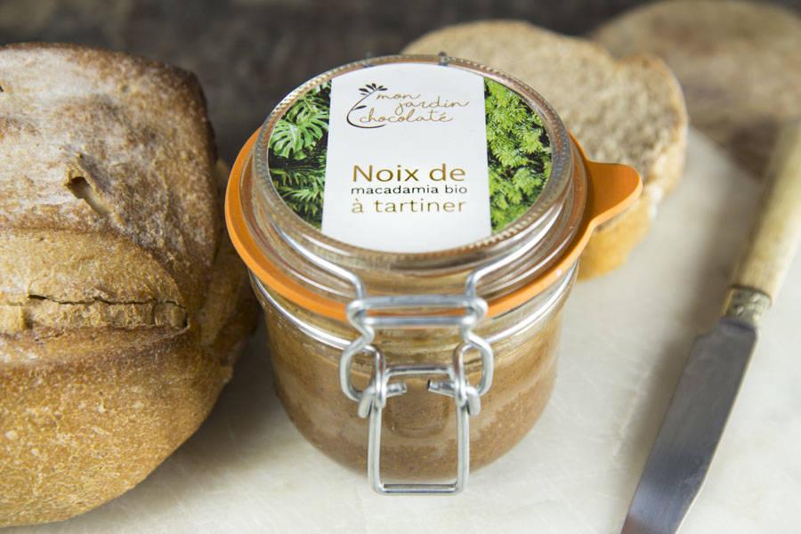 Noix de macadamia à tartiner BIO - Mon Jardin Chocolaté - La Ruche qui dit Oui ! à la maison