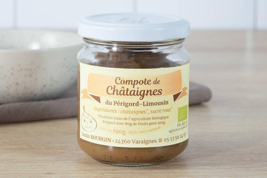 Compote de châtaigne BIO - Châtaigne Gourmande - La Ruche qui dit Oui ! à la maison