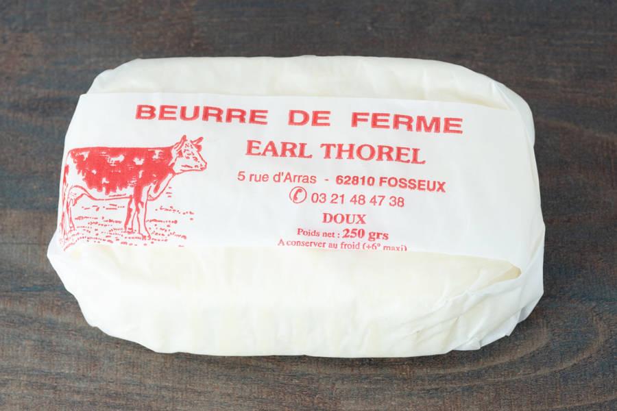 Beurre cru de ferme -Doux - Ferme du Sire de Créquy - La Ruche qui dit Oui ! à la maison
