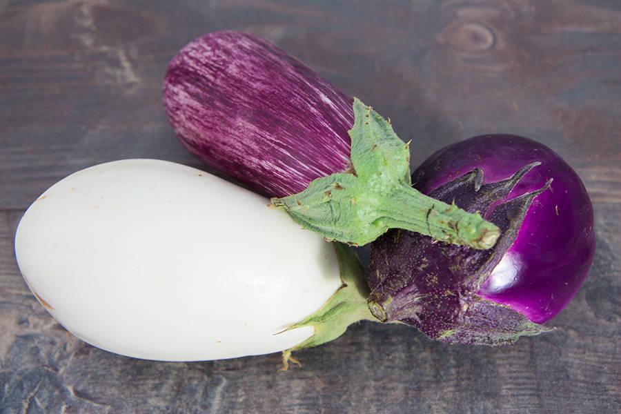 Mélange d'aubergines BIO - Ferme Lafouasse - La Ruche qui dit Oui ! à la maison